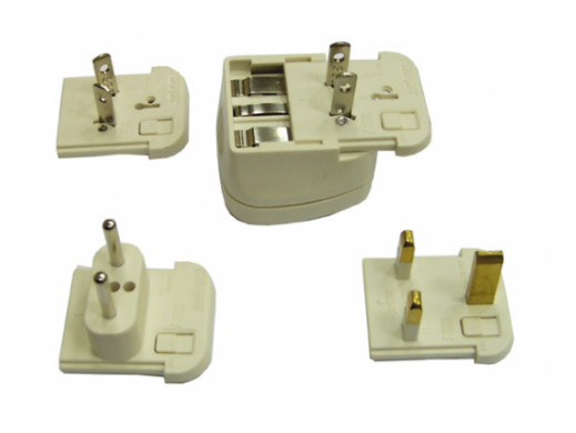 Adapter podróżny LY-03 5 elementowy