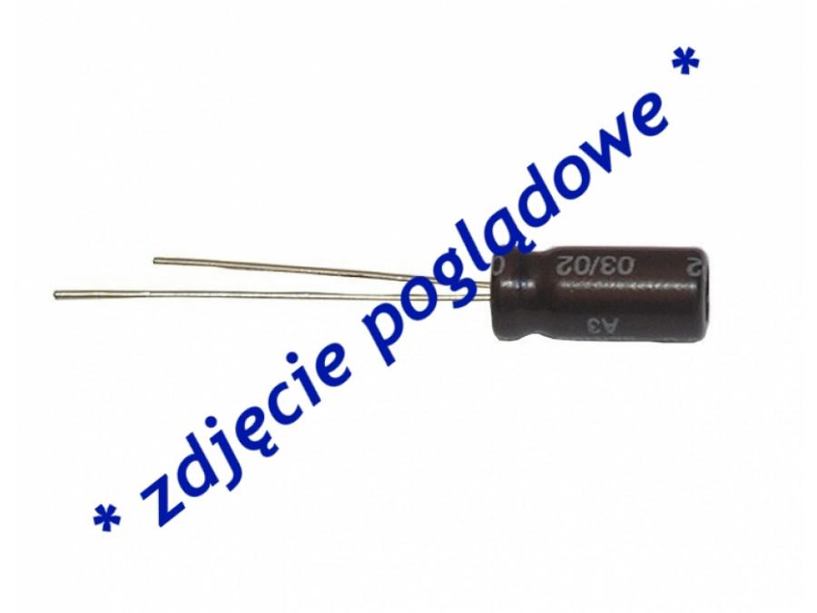 Kondensator elektrolityczny 220uF 16V 105c