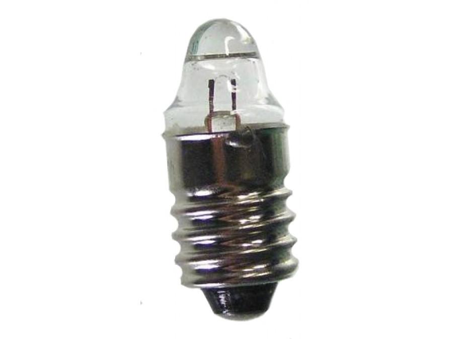 Żarówka bateryjna E10 1,2V soczewkowa