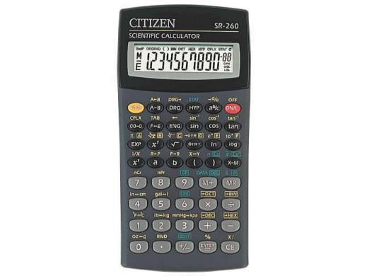 Kalkulator SR-260Nor Citizen