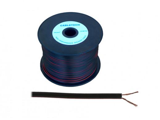 Kabel głośnikowy 2*0,16mm czarny