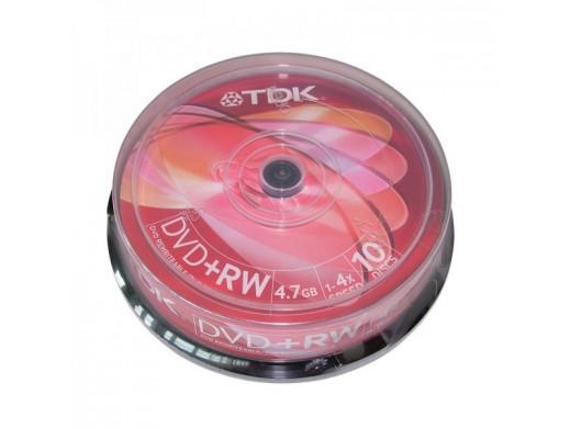 Płyta DVD+RW 4,7Gb TDK bez...