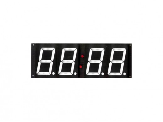 J-79 Zegar cyfrowy z wyświetlaczem 2,3''. Wysokość wyświetlaczy 70mm