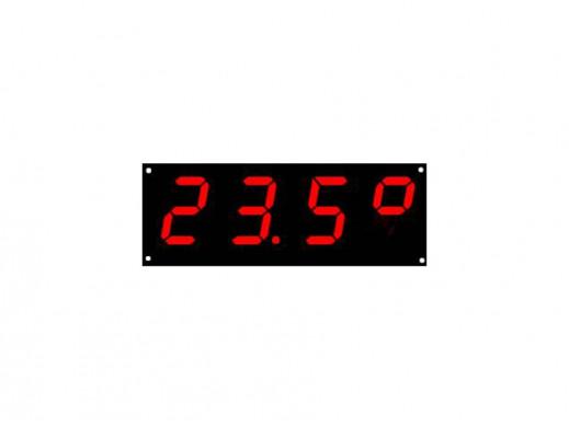 J-80 Termometr cyfrowy z wyświetlaczem 2,3''. Wysokość wyświetlaczy 70mm