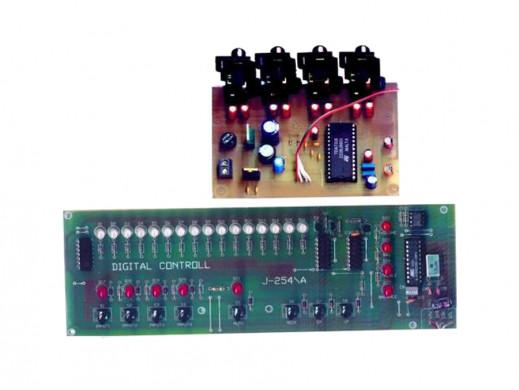 J-254 Przedwzmacniacz ze sterowaniem cyfrowym