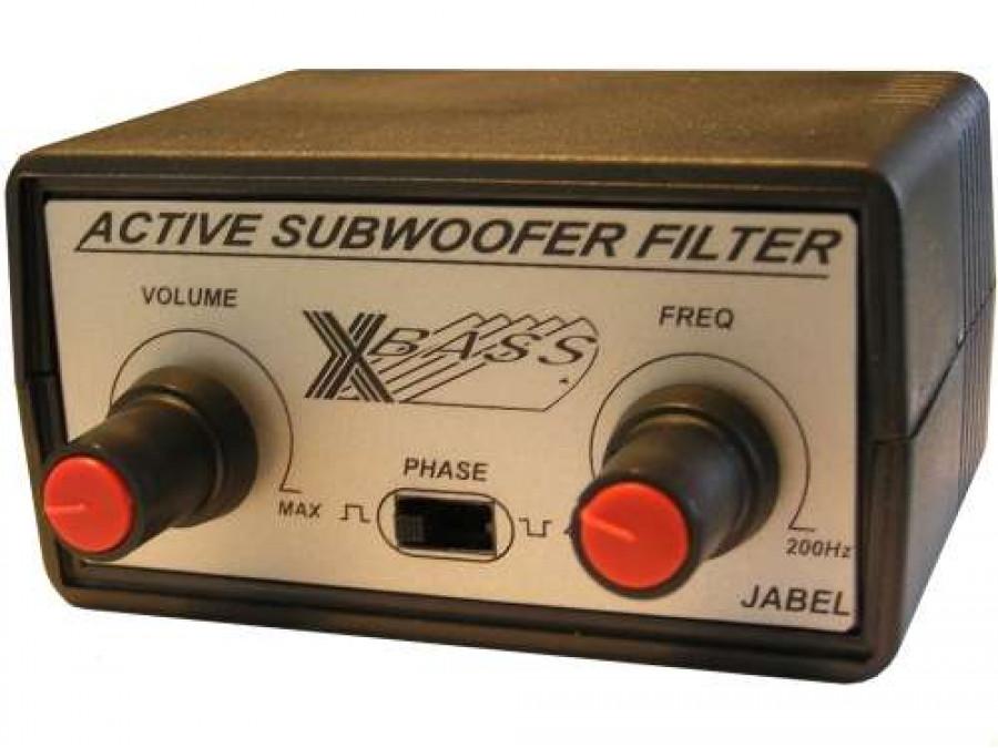 J-265 Aktywny filtr niskotonowy do subwoofera