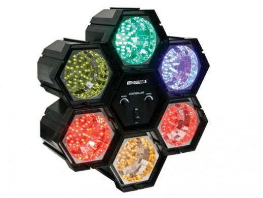 Kolorofon diodowy 6x36 LED VDLL6RL Velleman