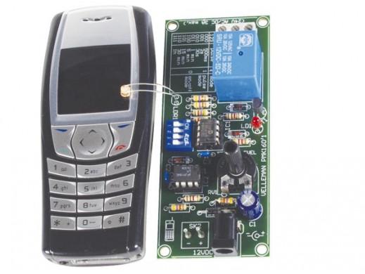 Zdalne sterowanie przez telefon komórkowy MK160
