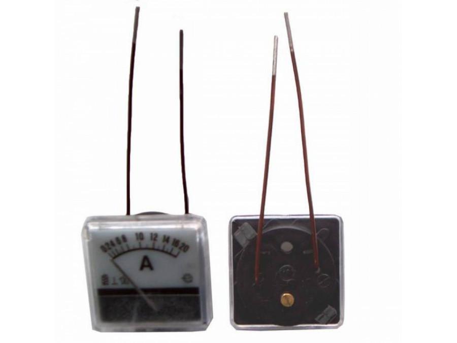 Amperomierz analogowy 20A WP20 kwadrat