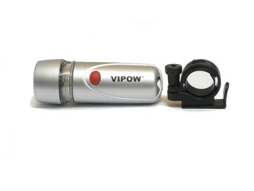 Lampka rowerowa diodowa przednia Vipow