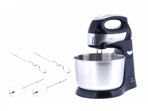 Robot kuchenny mikser z misą 300 W INOX First Austria Fa 5258