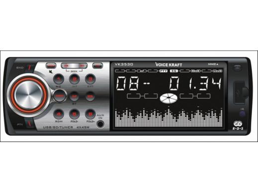 Radioodtwarzacz MP3/USB/SD/MMC VK-3530 CL VoiceKraft