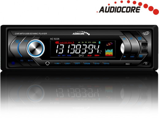 Radioodtwarzacz Audiocore AC9226B  MP3/WMA/USB/SD