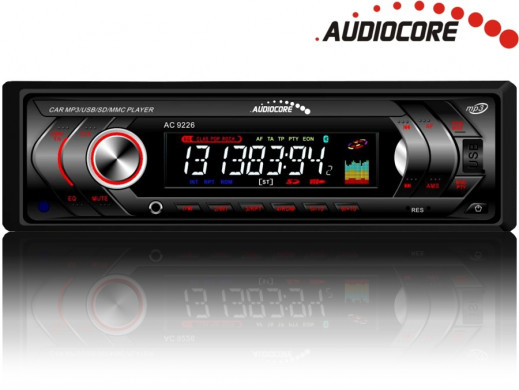 Radioodtwarzacz Audiocore AC9226R MP3/WMA/USB/SD