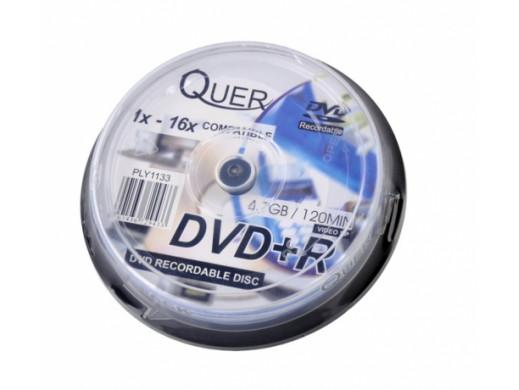 DVD+R QUER 4.7GB/16x