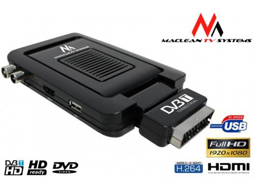 Tuner Maclean, DVB-T, TV naziemnej, MCTV-966HD