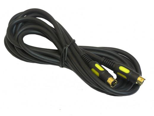 Przewód, kabel Svhs-Svhs 10m łezka