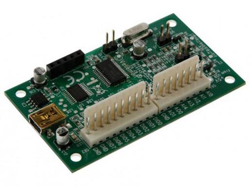 Interfejs mini USB - płytka VM167