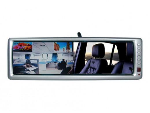 Kamera cofania z monitorem w lusterku Serm-21 kamera SRC-13B 1/4CMOS 380L 1.0lux