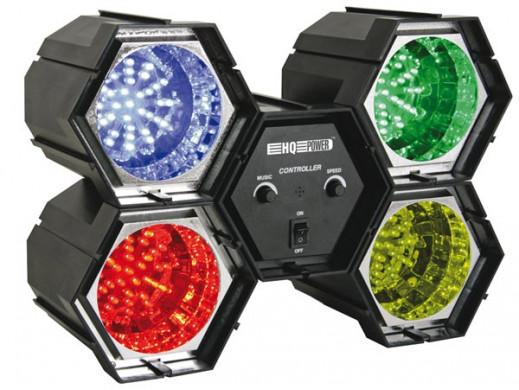 Kolorofon 4x36 LED RGB VDLL4RL HQPower