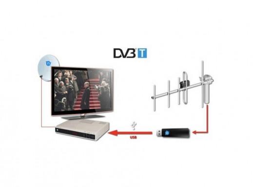 Tuner DVB-T Usb Dongle...
