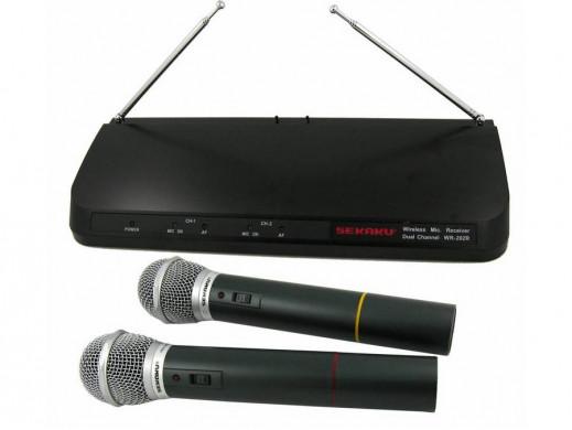 Mikrofon bezprzewodowy VHF WR-202R/WXM-286TS 2 kanały