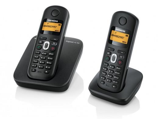 Telefon bezprzewodowy Gigaset ALI180 DUO Siemens