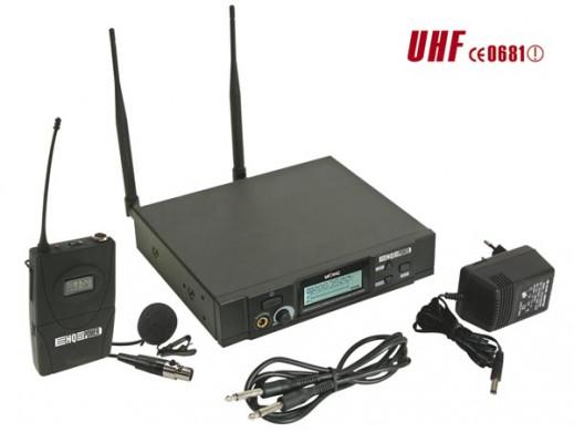 Mikrofon bezprzewodowy 8 kanałowy. Zestaw z 1 mikrofonem na klips i mikroportem MICW42-2