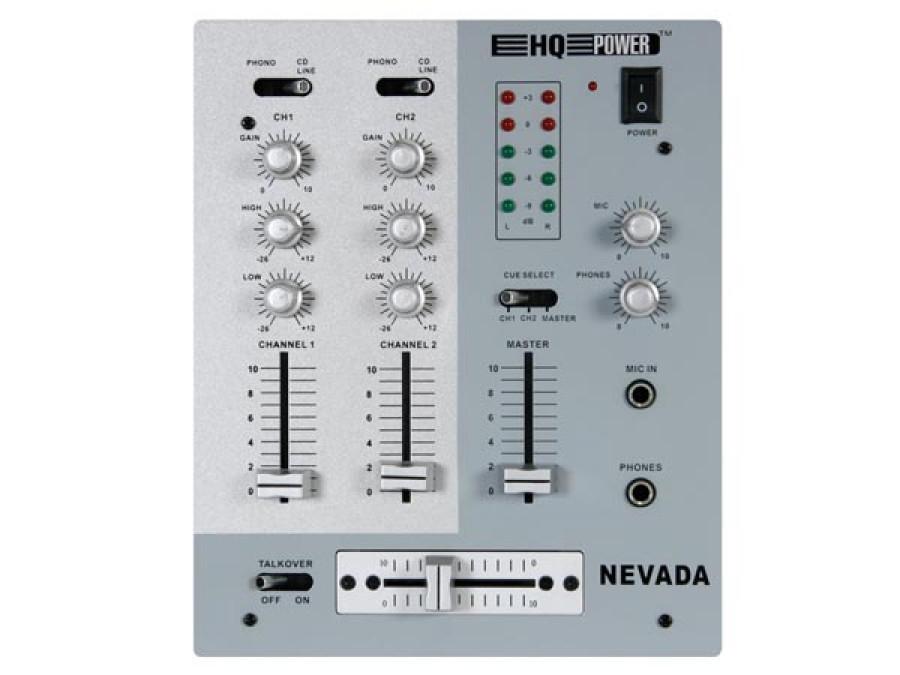 Mikser dyskotekowy 3 kanałowy PROMIX220. Profesjonalny z 1 kanałem mikrofonowym. PROMIX220