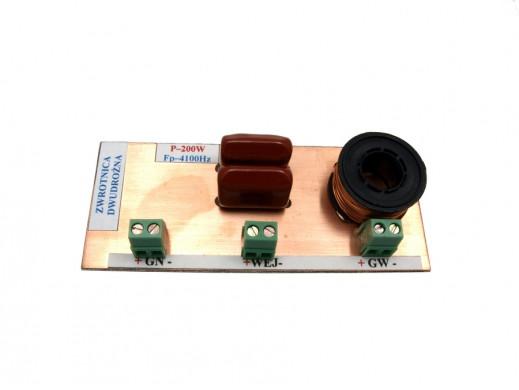 Zwrotnica głośnikowa dwudrożna 200W 8R mini