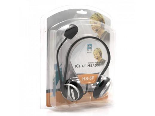 Słuchawki z mikrofonem HS-5P A4Tech