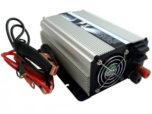 Przetwornica 12V na 220V 500W Power Inverter