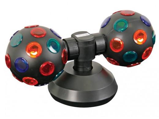 Efekt świetlny kule obrotowe 4'' średnica 360mm VDL4DL2