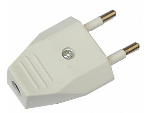 Wtyczka prądowa prosta płaska