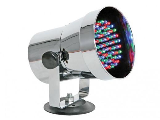 Reflektor LED chrom. 61 LED...