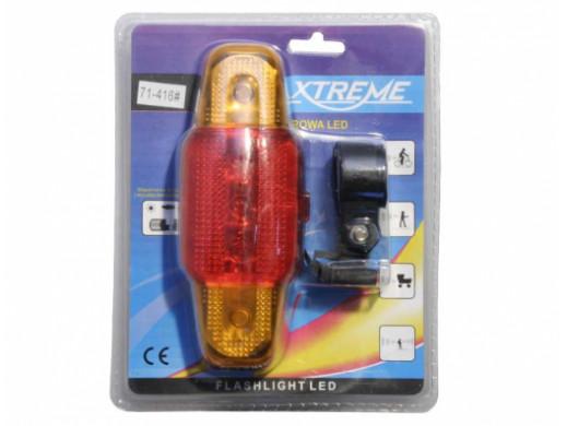 Lampa rowerowa 816LED tył