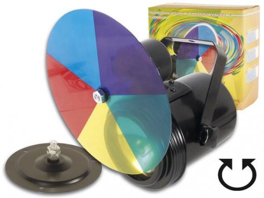 Efekt świetlny reflektor z kolorową tarczą VDLP36C