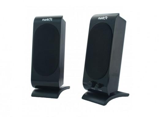 Głośniki komputerowe 2.0 Cicada Piano-black 6W USB Natec