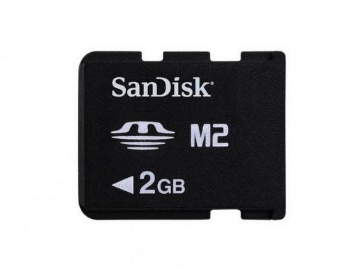 Karta pamięci 2GB SDC M2 SanDisk bez adaptera