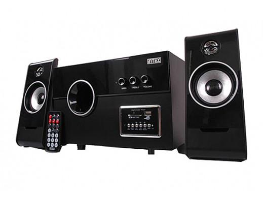 Głośniki komputerowe 2400W z radiem FM 2400W Intex