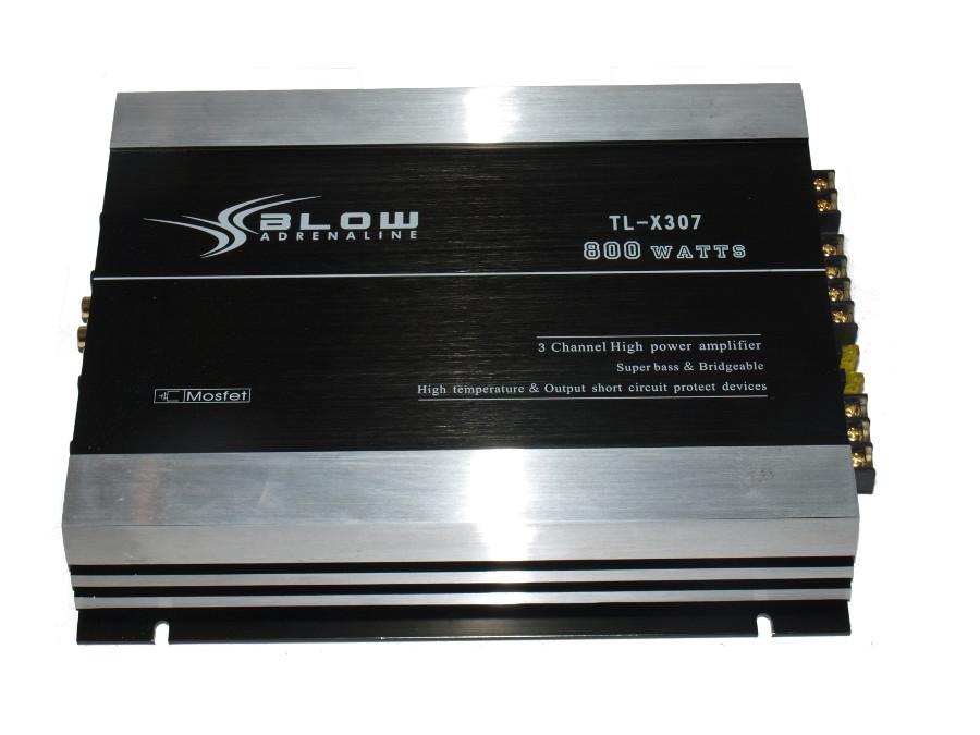 Wzmacniacz samochodowy BLOW TL-X307 800W dwukanałowy