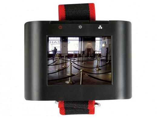 "Monitor LCD 2,36"" do instalacji kamer CCTV na rękę"