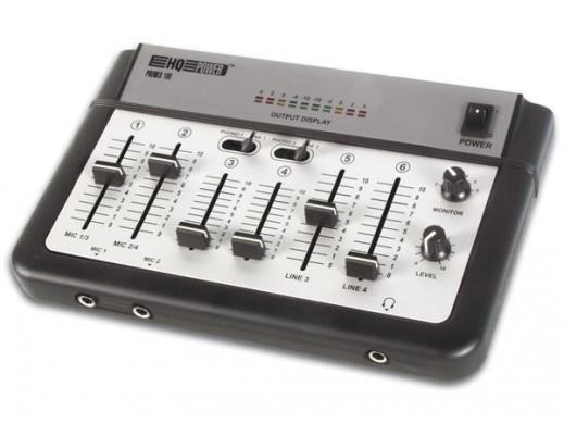 Mikser estradowy Promix100 4 kanały + 2 mikrofony