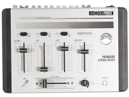 Mikser estradowy Promix303 4 kanały + 1 mikrofon