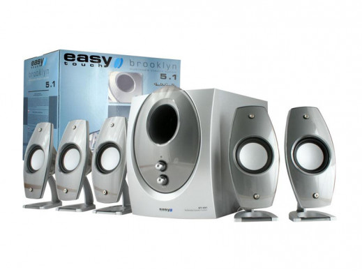 Głośniki komputerowe ET-681 5.1 Brooklyn Easy Touch