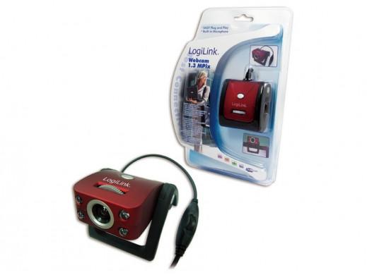 Kamera internetowa USB UA0067 LogiLink z podczerwienią