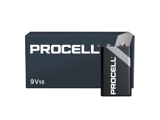 Bateria R-9V 6LR61 Duracell Procell Alkaline Industrial