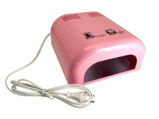 Lampa UV 36W różowa