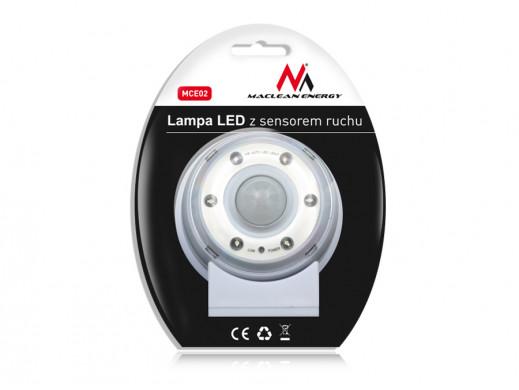 Lampa LED z sensorem ruchu,...