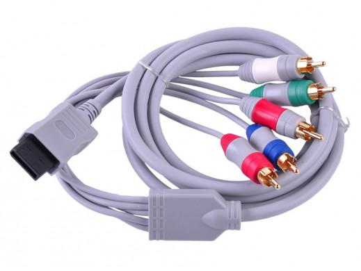 Przewód TV Component do WII Nintendo Full HD